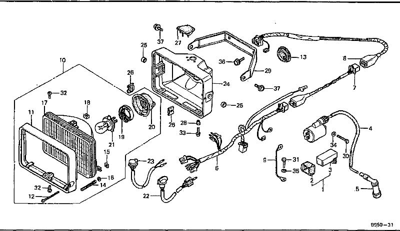 Bolton Motorcycles - Fl250  Odyssey  1984