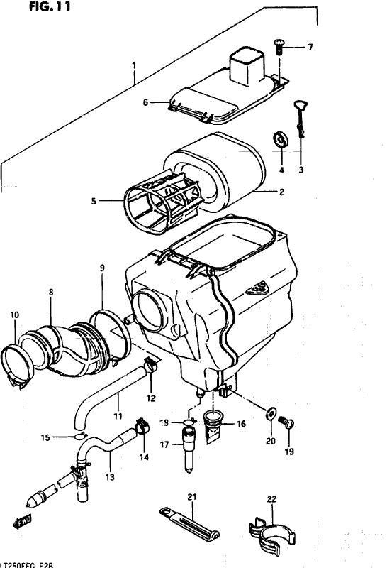 Bolton Motorcycles - Lt250ef 1985